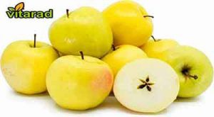 Yellow apple fruit